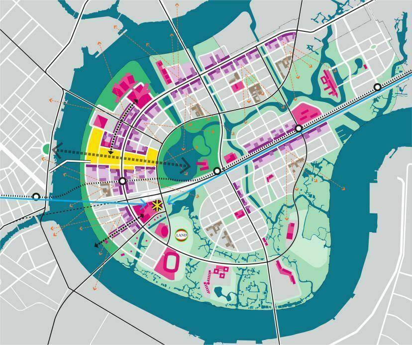 quy hoạch tầm nhìn và kết nối không gian cho Thủ Thiêm - Sasaki