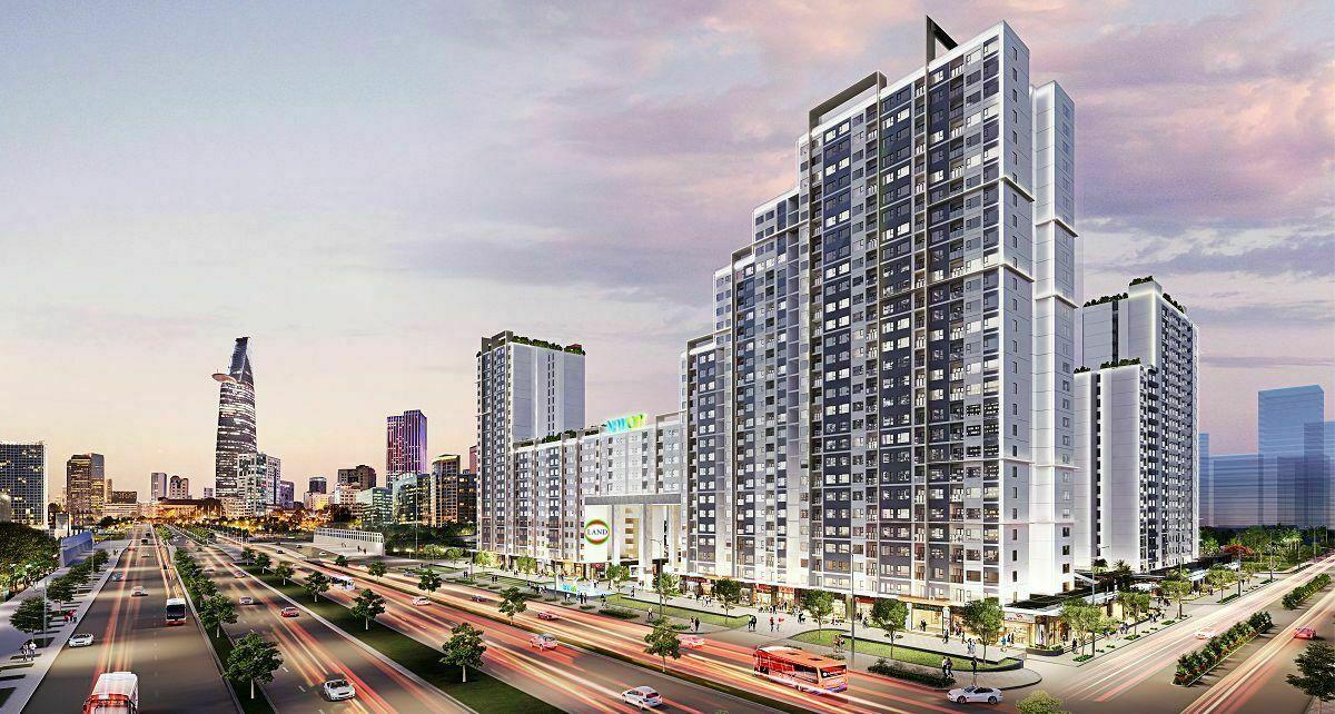 New city Thủ Thiêm - TP Thủ Đức