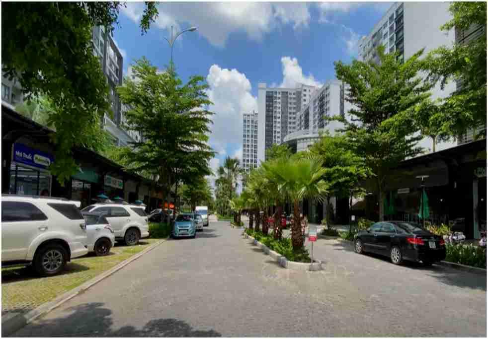 Tiện tích nội khu căn hộ sân vườn 3 phòng ngủ new city mai chí thọ