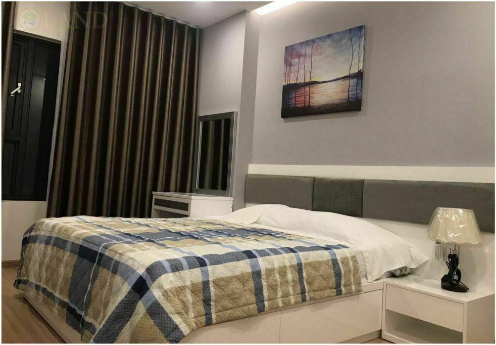 Phòng khách căn hộ 1 phòng ngủ city apartments