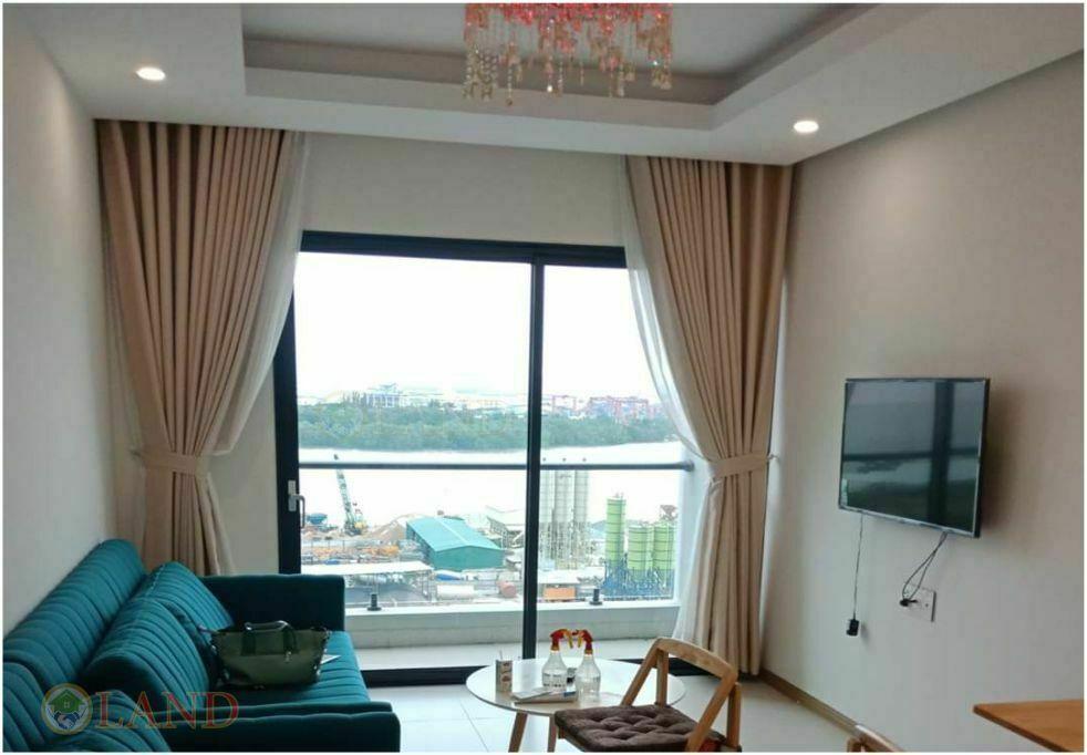 Phòng khách căn hộ 3 phòng ngủ new city án phú