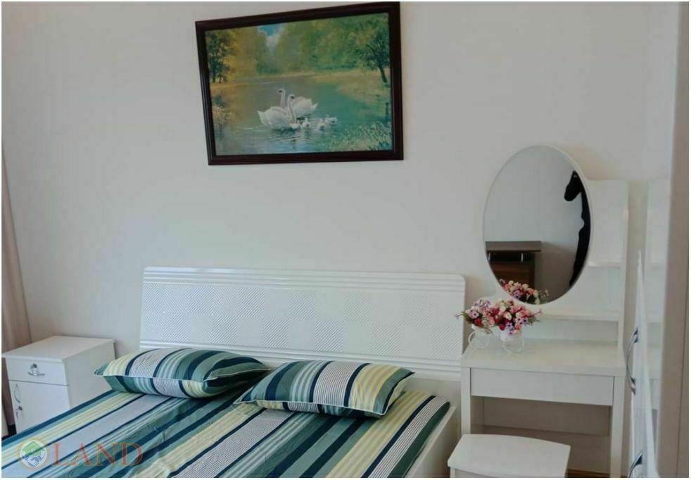 Phòng ngủ master căn hộ 3 phòng ngủ new city an phú