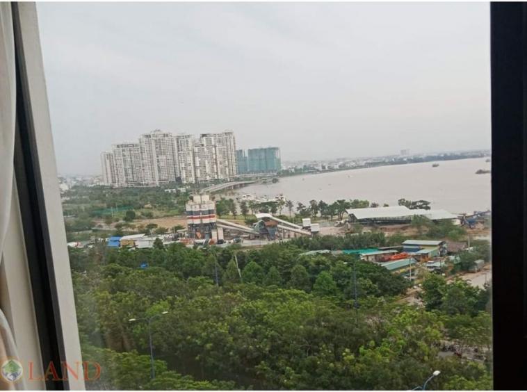 View phòng ngủ master căn hộ 3 phòng ngủ new city an phú
