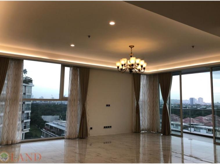 Sl02 view phong khách căn hộ 3 phòng ngủ sarica sala thủ thiêm